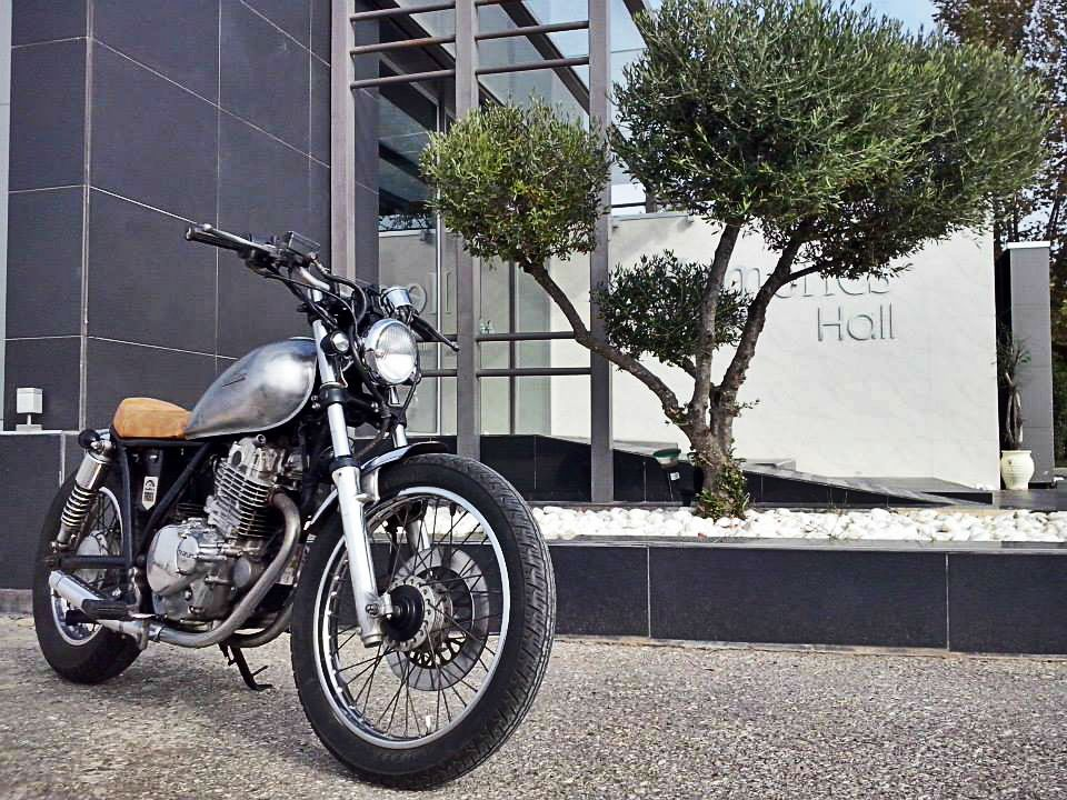 #Suzuki #GN250 #Brat #custom #motorcycle https://www.facebook.com/DinostyleGarage