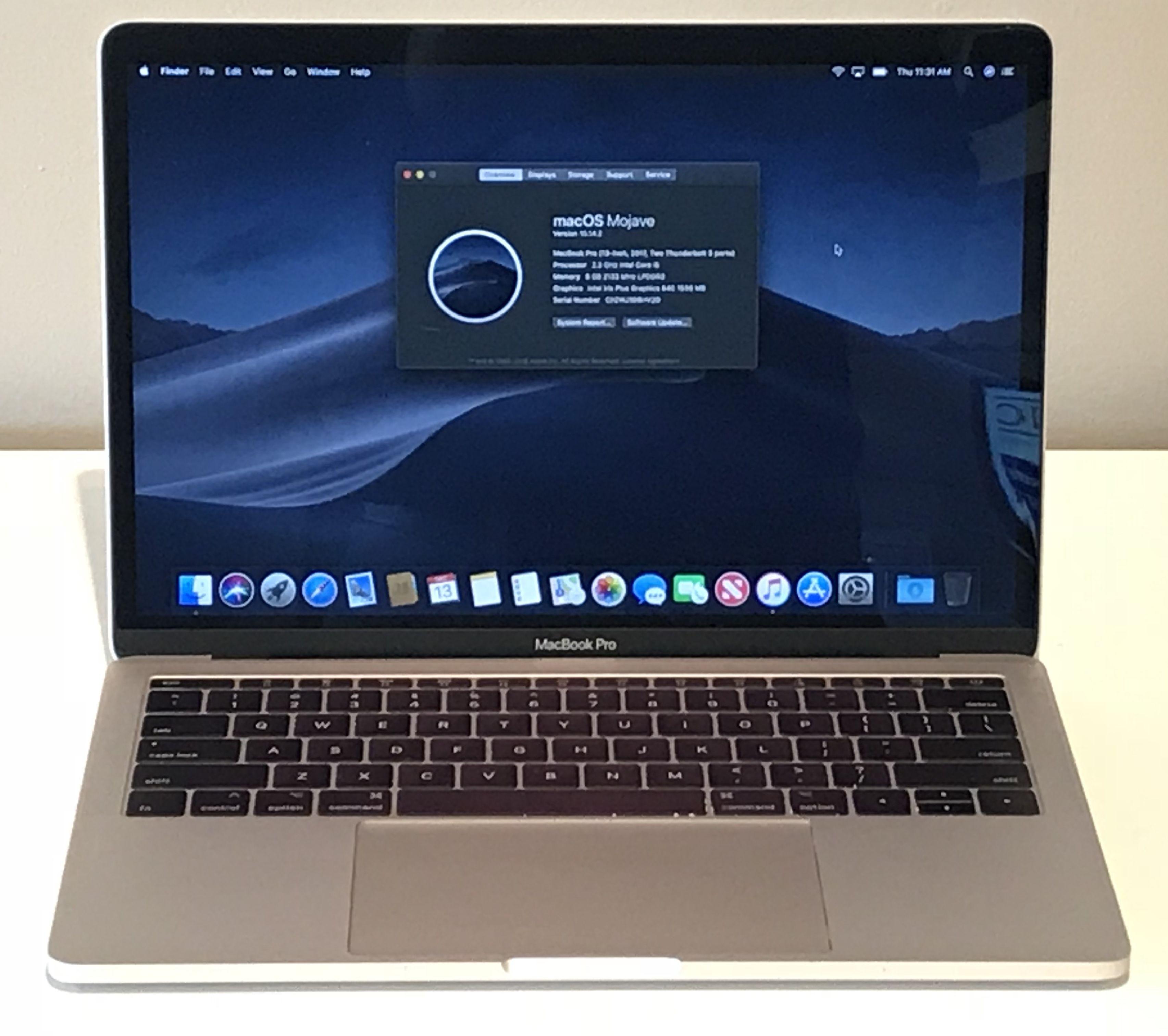 Macbook Pro 13 2017 949 99 2 3ghz 8gb R 251 Gb Ssd Macbook Pro 13 Macbook Pro Macbook