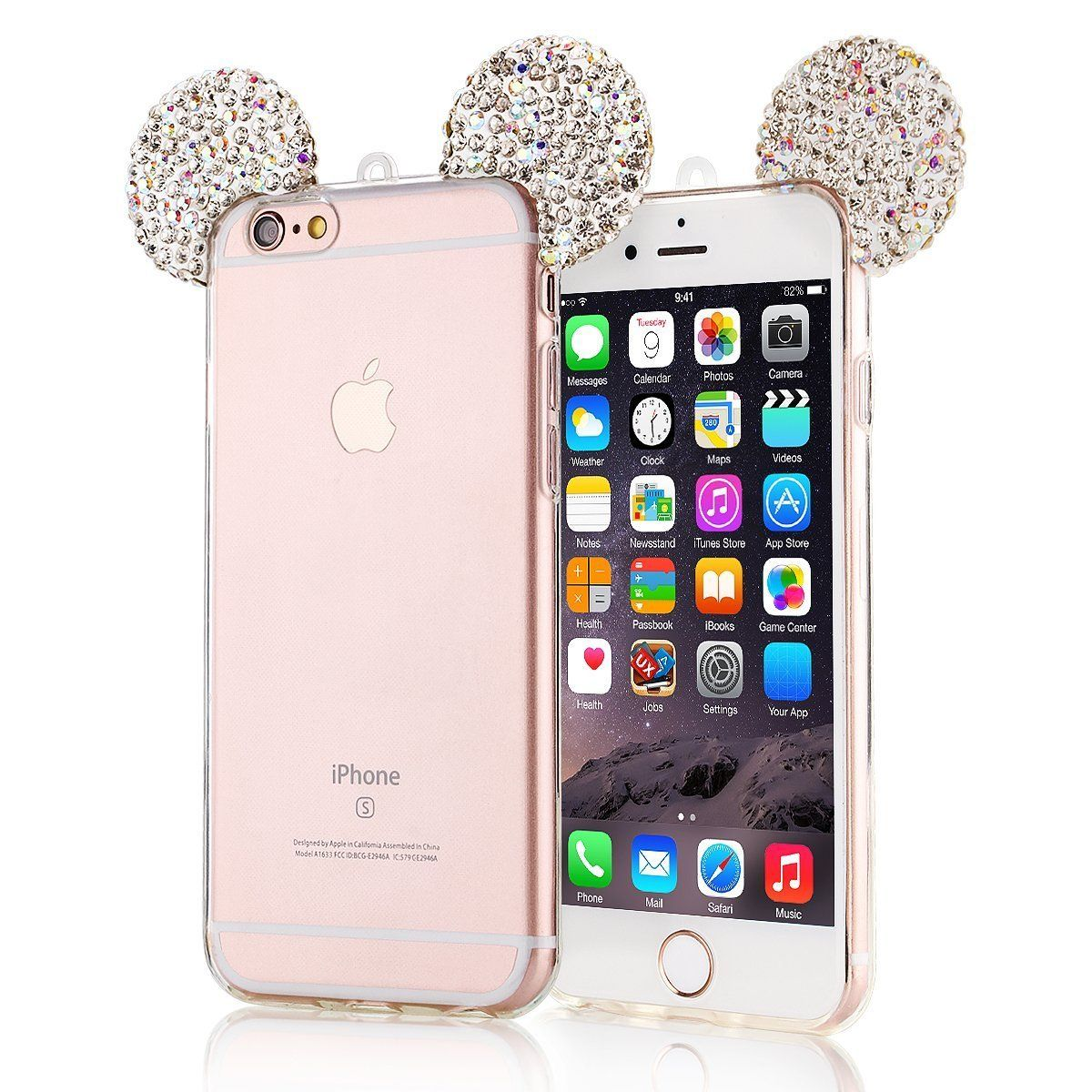 Disney Discovery Mickey Ears Cell Phone Case Iphone