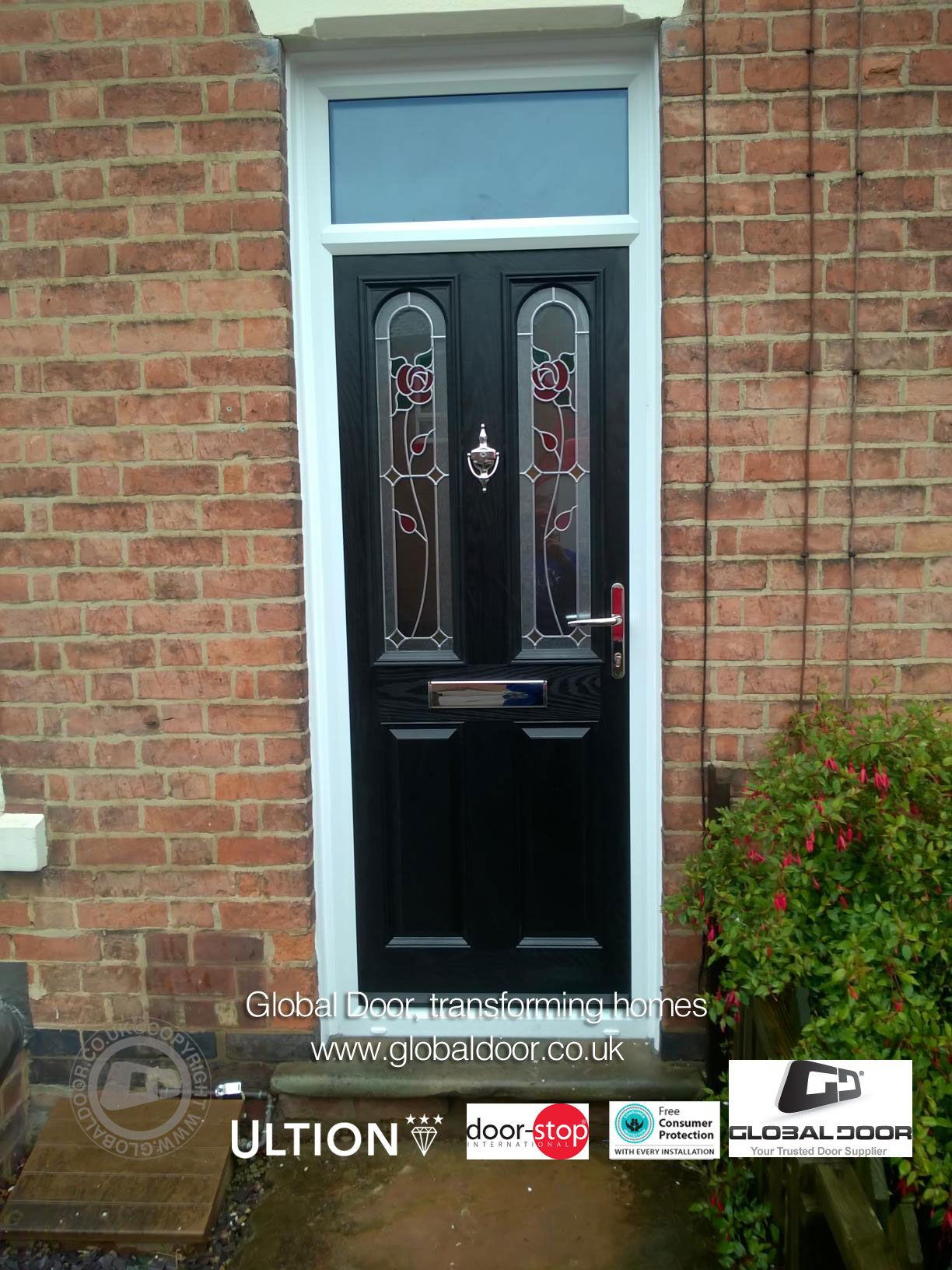 Global Composite Doors Available For Fitting Or Diy Fitting To Any Uk Postcode Available With 12 Months 0 Interest Free Credi Composite Door Front Door Home