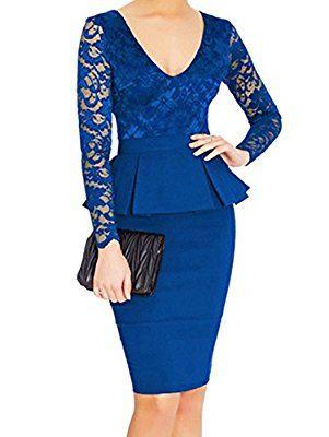Swing Francesca, vestido Mujer, Azul (Navy), 40 amazon-premium-brands el-negro