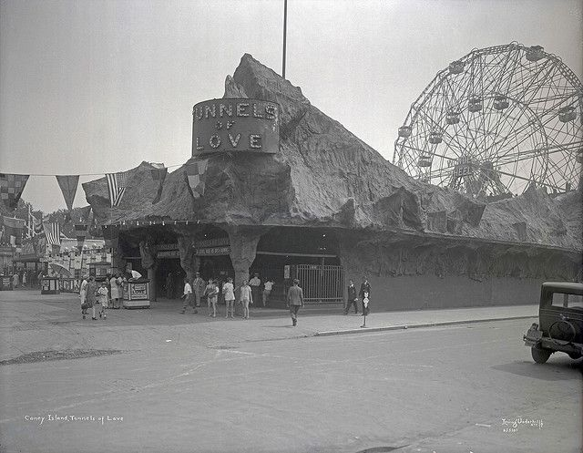 Tunnels of Love, Coney Island1929