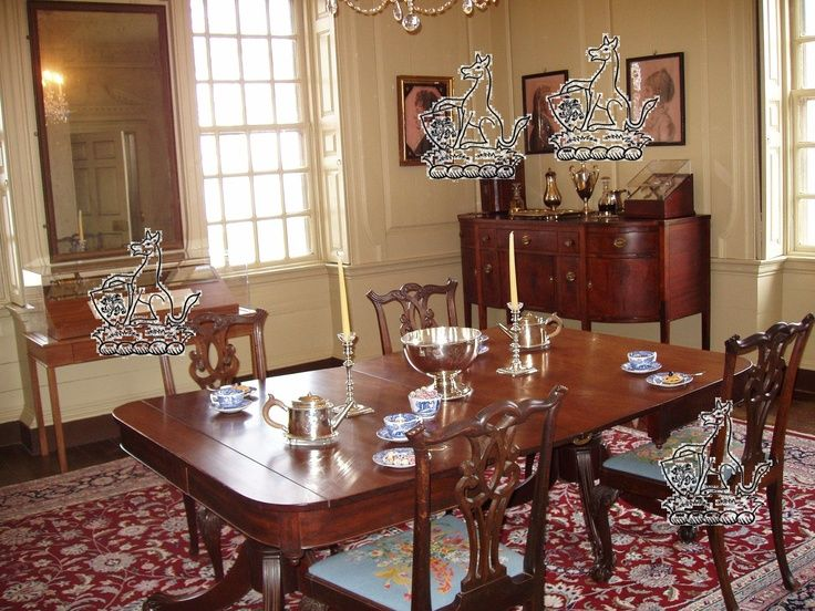 1000+ Images About 18th Century American Homes   Interiors On .