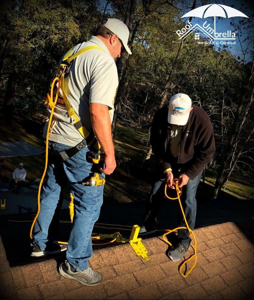 Ensure full OSHA compliance with RoofUmbrella's built in
