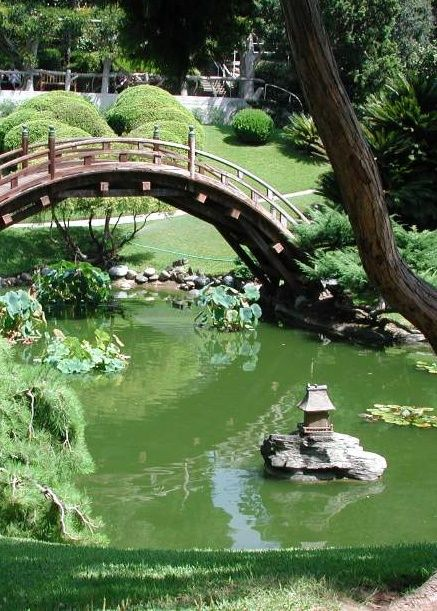 japanese garden b ri d ge Pinterest Jardines japoneses, Jardín - jardines zen