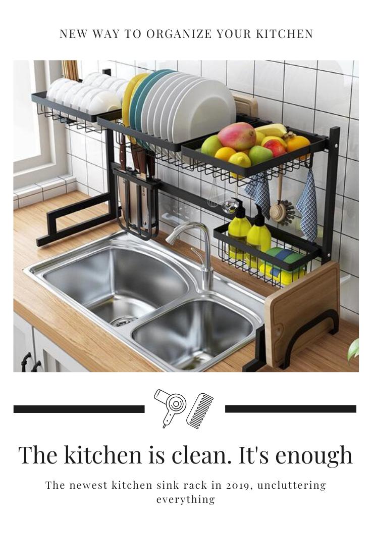 black over sink dish drying rack sink