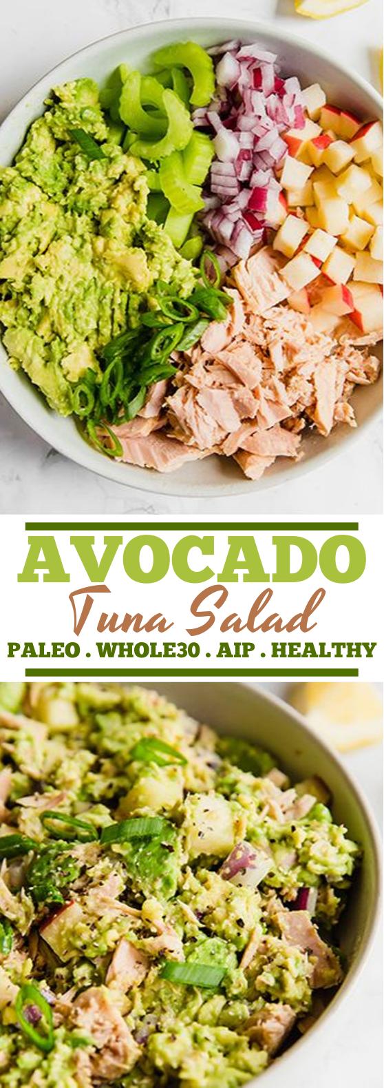 Avocado Tuna Salad #healthy #salad #insurancequotes