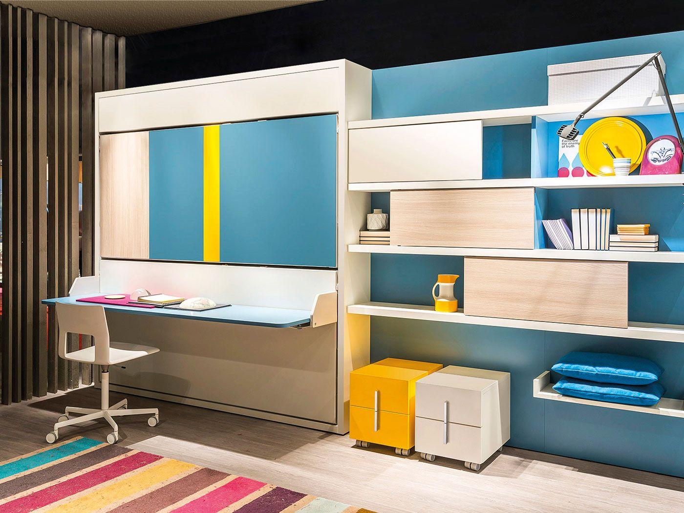 Guardaroba bambini ~ La camera per bambini salvaspazio composta da due letti verticali