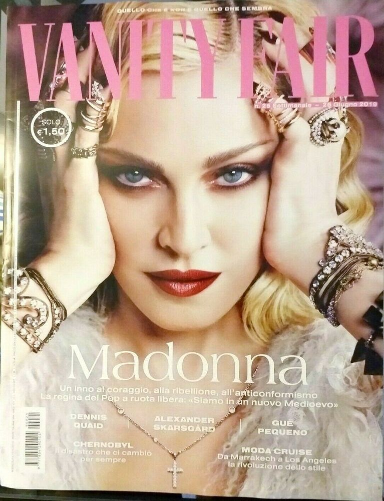 Vanity Fair Italy N 25 26 Giugno 2019 Rivista Magazine Madonna Gue Pequeno Moda Vanity Fair Magazine Vanity Fair Vanity Fair Italia