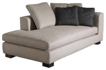Minotti Matisse Modern Chaise Longue - modern - day beds and chaises - Switch Modern  sc 1 st  Pinterest : modern chaises - Sectionals, Sofas & Couches