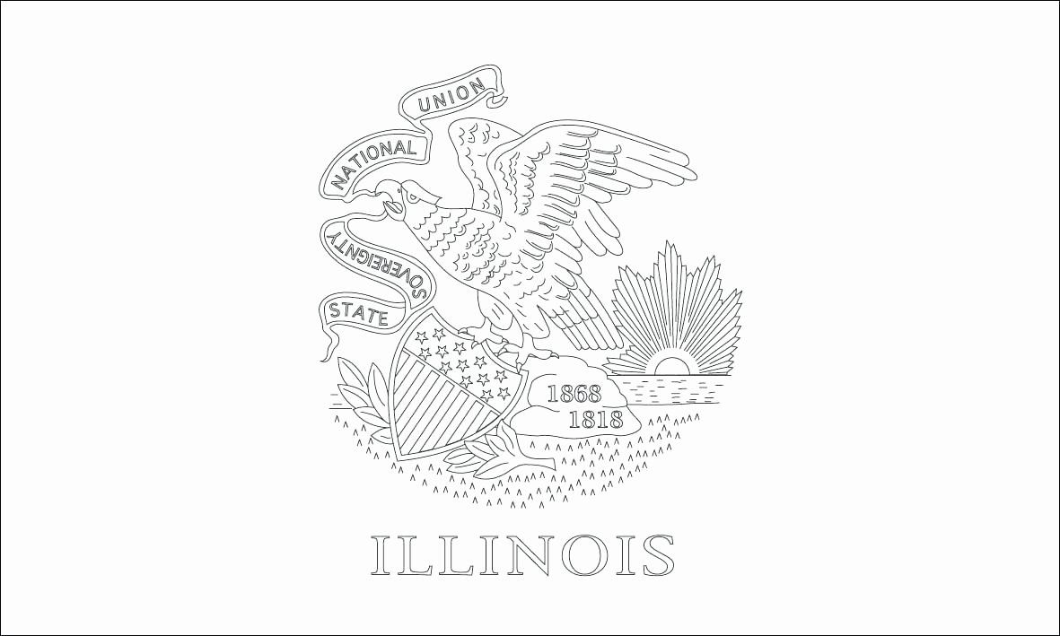 Connecticut State Flag Coloring Page Beautiful State Flags