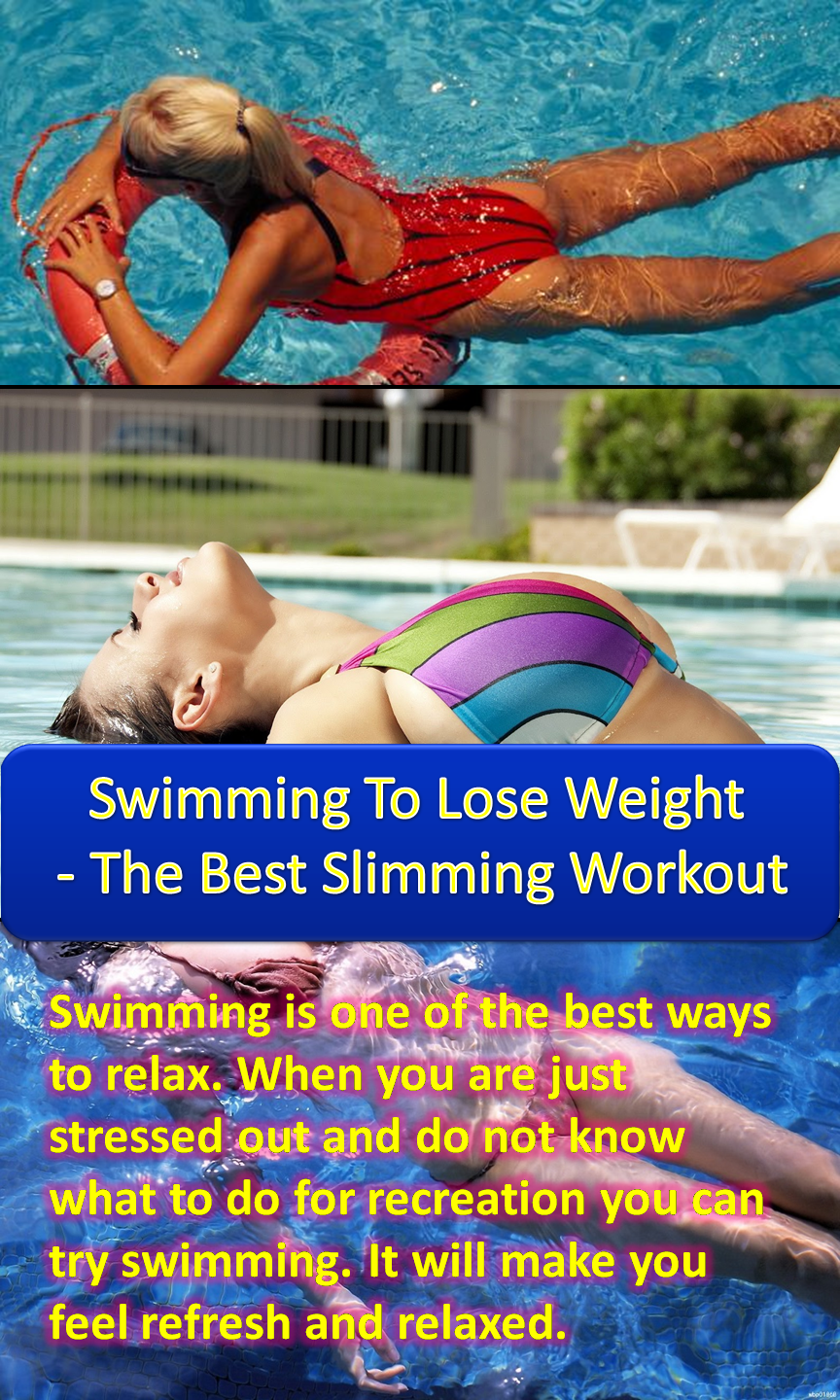 swimming to lose weight – the best slimming workout | fitness