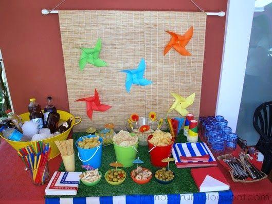 8 ideas f ciles y low cost para celebrar una fiesta de verano con o sin piscina pool party - Cumpleanos en piscina ...