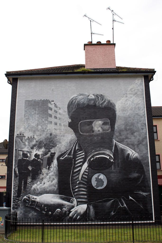 Irish mural from derry northern ireland my photography for Mural ireland