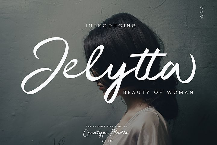 Download Jelytta font Fonts and typography   Free script fonts ...