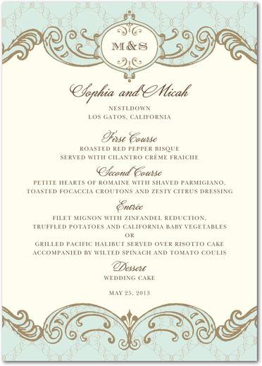 elegant wedding invitations - Google Search Lov Pinterest