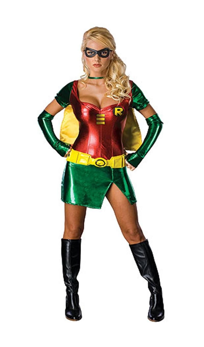 superhero costumes for women sexy robin halloween costume available at teezerscostumescom - Funny Halloween Costume Ideas Women