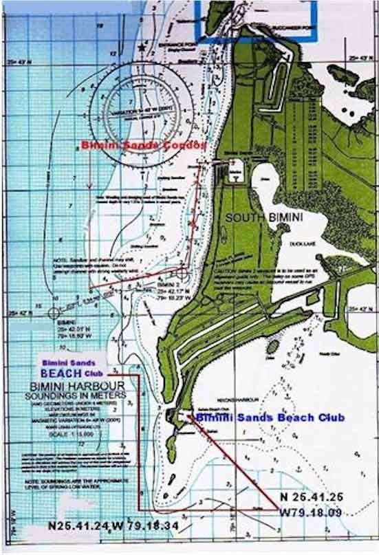 South Florida East Coast Map.Bimini Florida East Coast Bahamian Maps Maps Of Bimini The