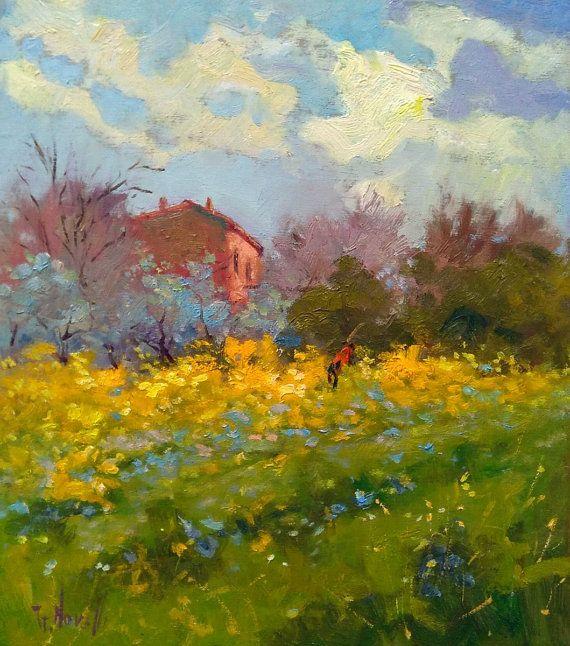 Italienische Malerei Des Impressionismus Bl 252 Hte Tuscanu