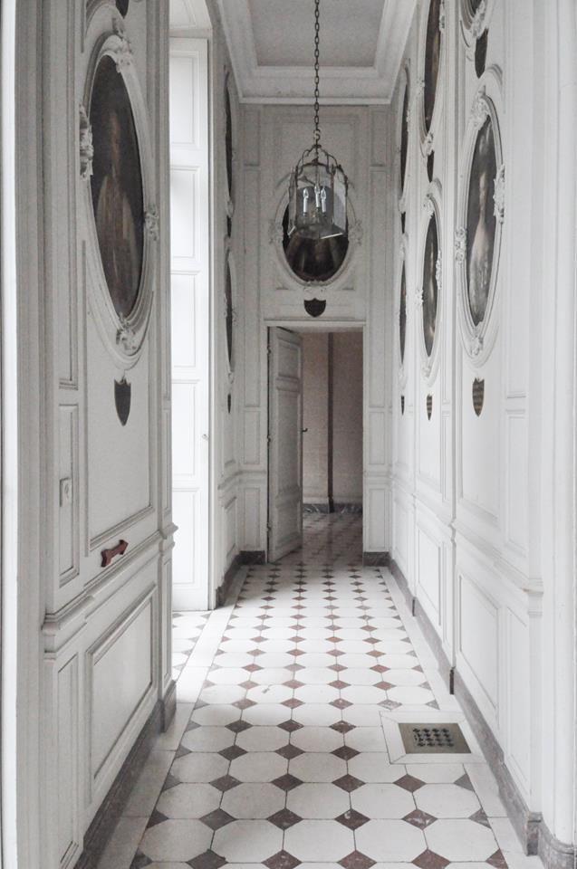 Through The Hallways Of The Castle Stuff Tiled Hallway