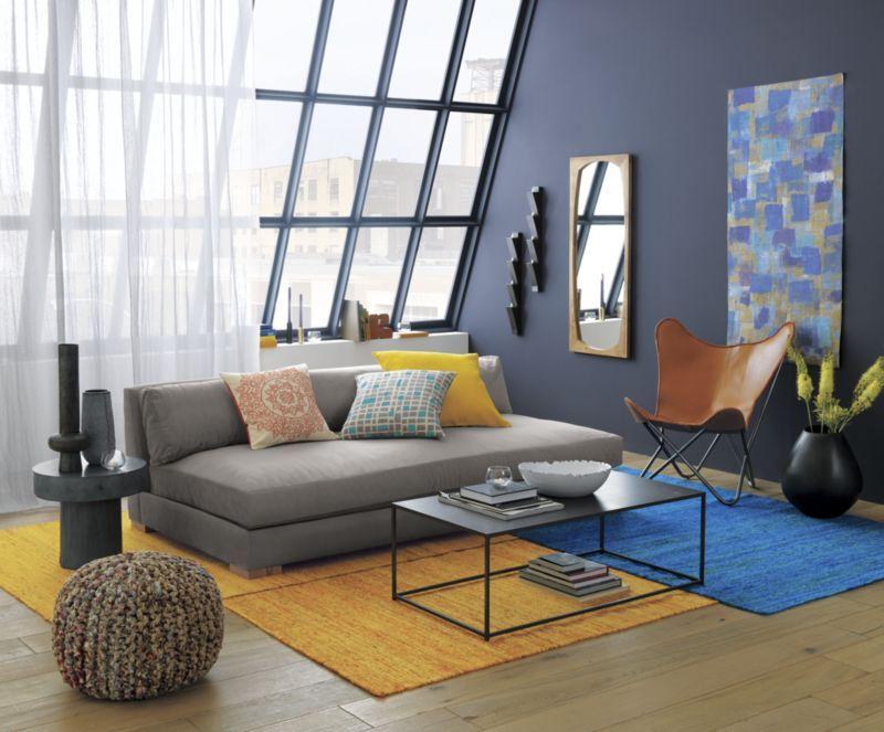 Best Piazza Storm Velvet Sofa Cb2 Living Room On A Budget 400 x 300