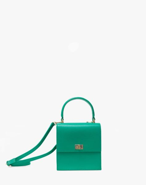 3ad54d5a0763 NEELY AND CHLOE MINI LADYBAG in KELLY GREEN Fashion Bags