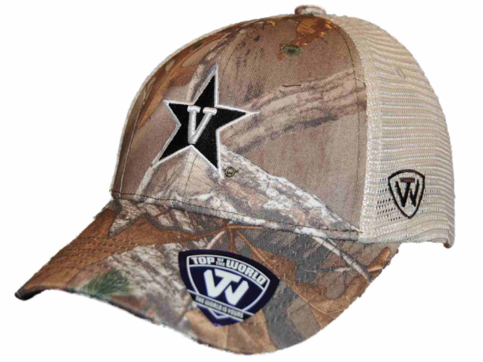 new product bdd3a f7acd ... where can i buy vanderbilt commodores tow camo mesh prey adjustable  snapback hat cap 52772 b95f8