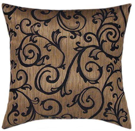 Santiago Mocha Accent Pillow 2pc Clearance Contemporary