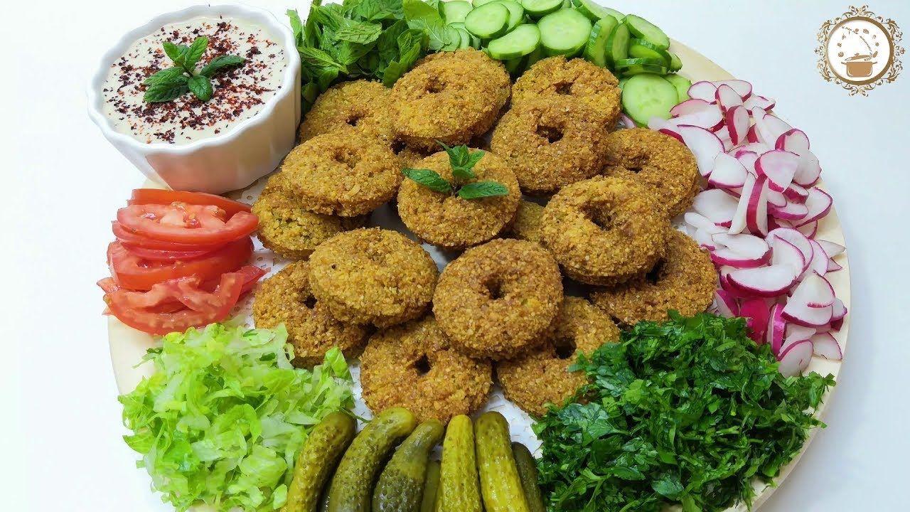 الفلافل على الطريقة السورية مع اسرار نجاحها و قرمشتها و لونها الذهبي Egyptian Food Food Falafel