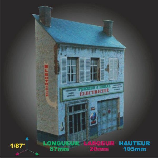 Demie maison 06A 01 - MAQUETTES \ DECORS PATRICE GREGOIRE - RUES