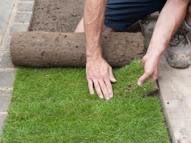 How To Install Sod Lawn Turf Front Yard Landscaping Lawn