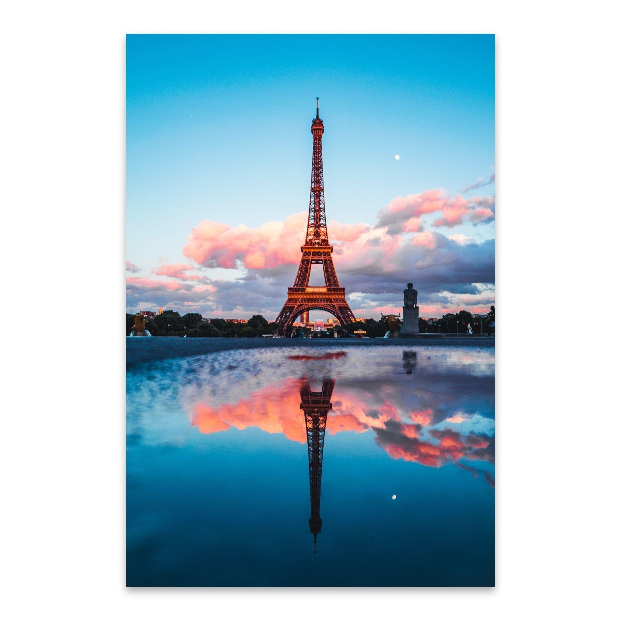 Noir Gallery Paris France Eiffel Tower Photo Metal Wall Art Print | Overstock.com Shopping - The Best Deals on Metal Art
