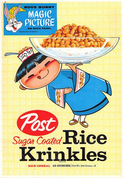 Vintage cereal advertising mascots