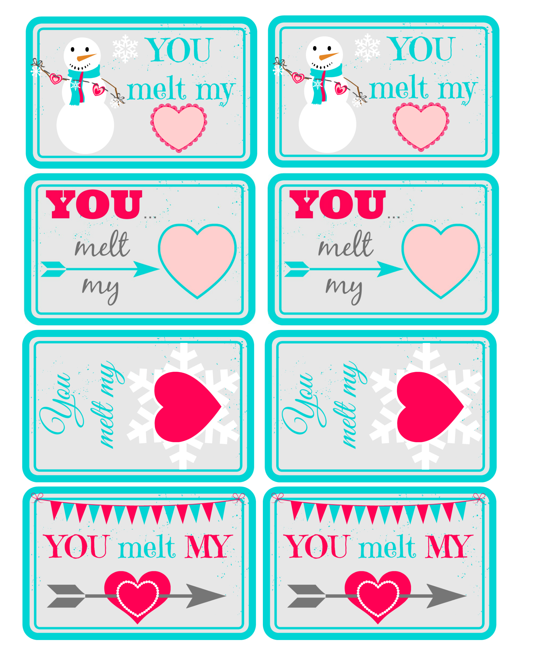 Share the love free printable valentine gift tags pinterest free printable valentine gift tags negle Image collections