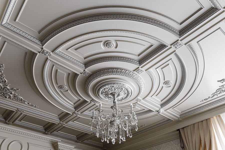 ديكور جبس أسقف كلاسيك لـ ديكورات جبس الفلل والمنازل الفخمة ديكورات أرابيا Plaster Ceiling Design House Ceiling Design Ceiling Design Modern