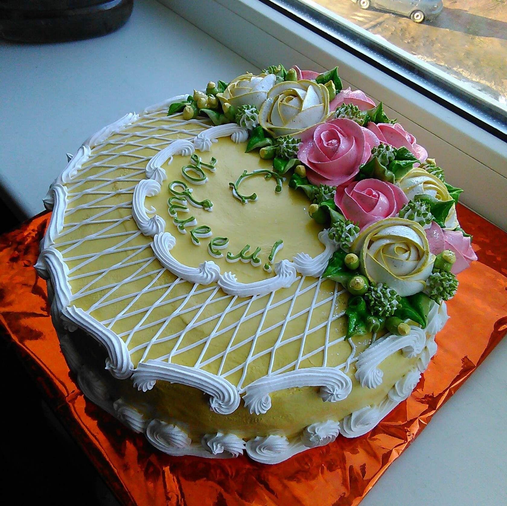 Личное фото | Восхитительные торты, Торт на день рождения ...