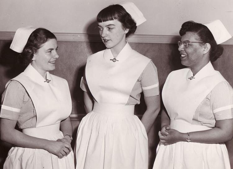 Old Nurses Uniform 111