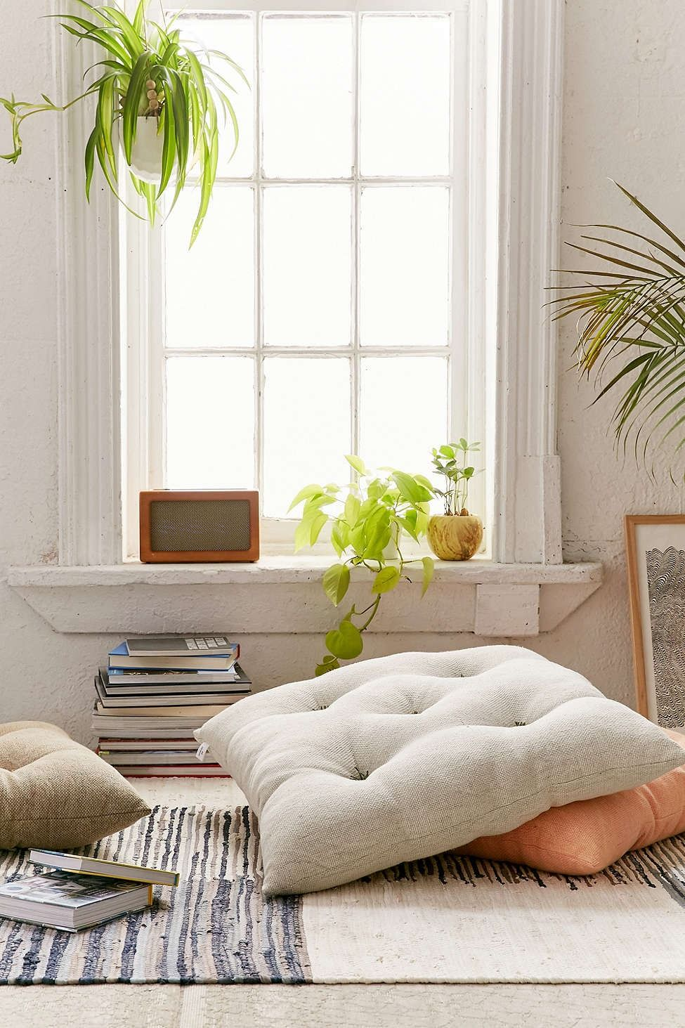 living room pillows floor versace set frans pillow decorate flooring urban outfitters decor latest styles