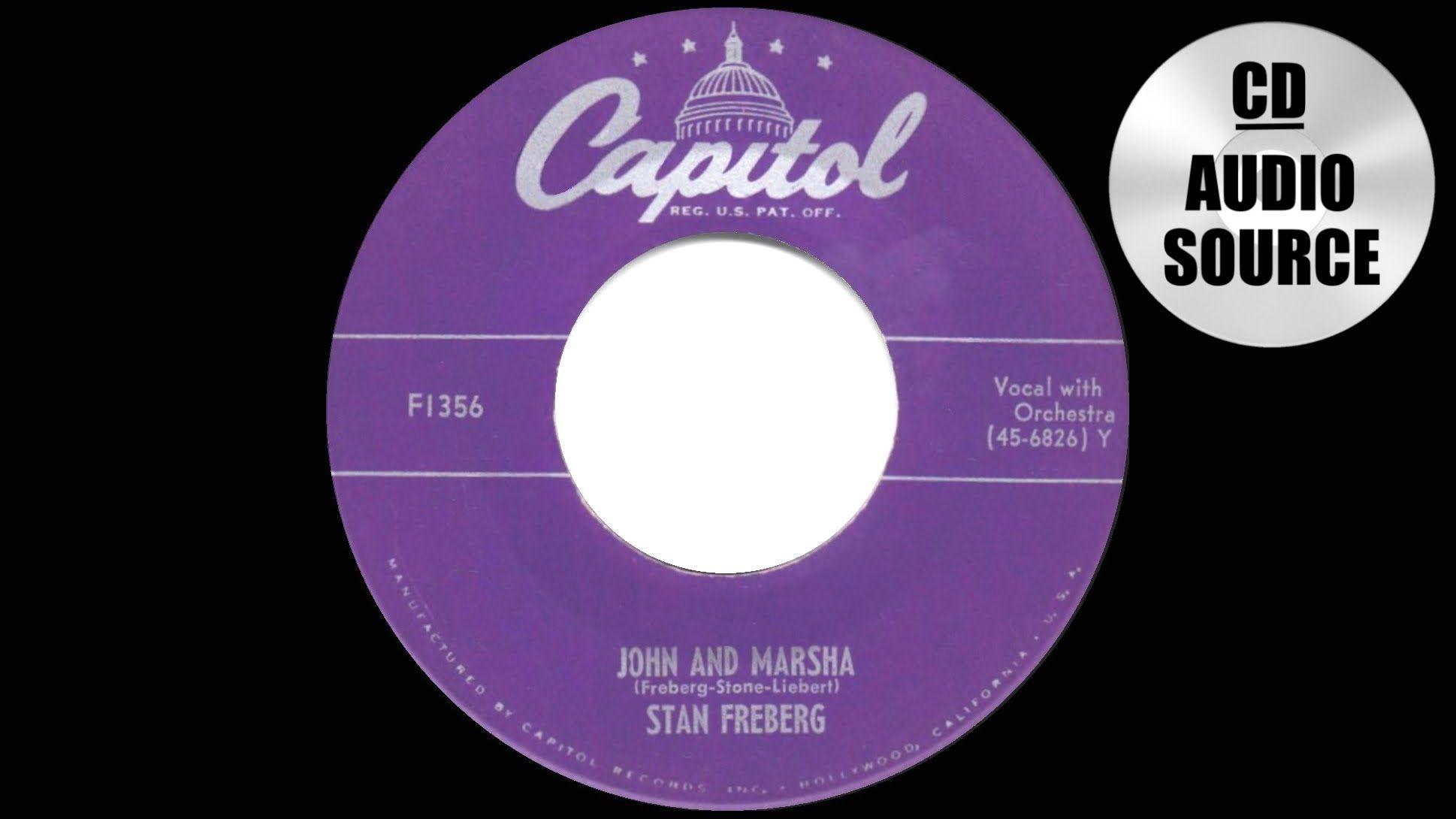 1951 HITS ARCHIVE John And Marsha Stan Freberg See