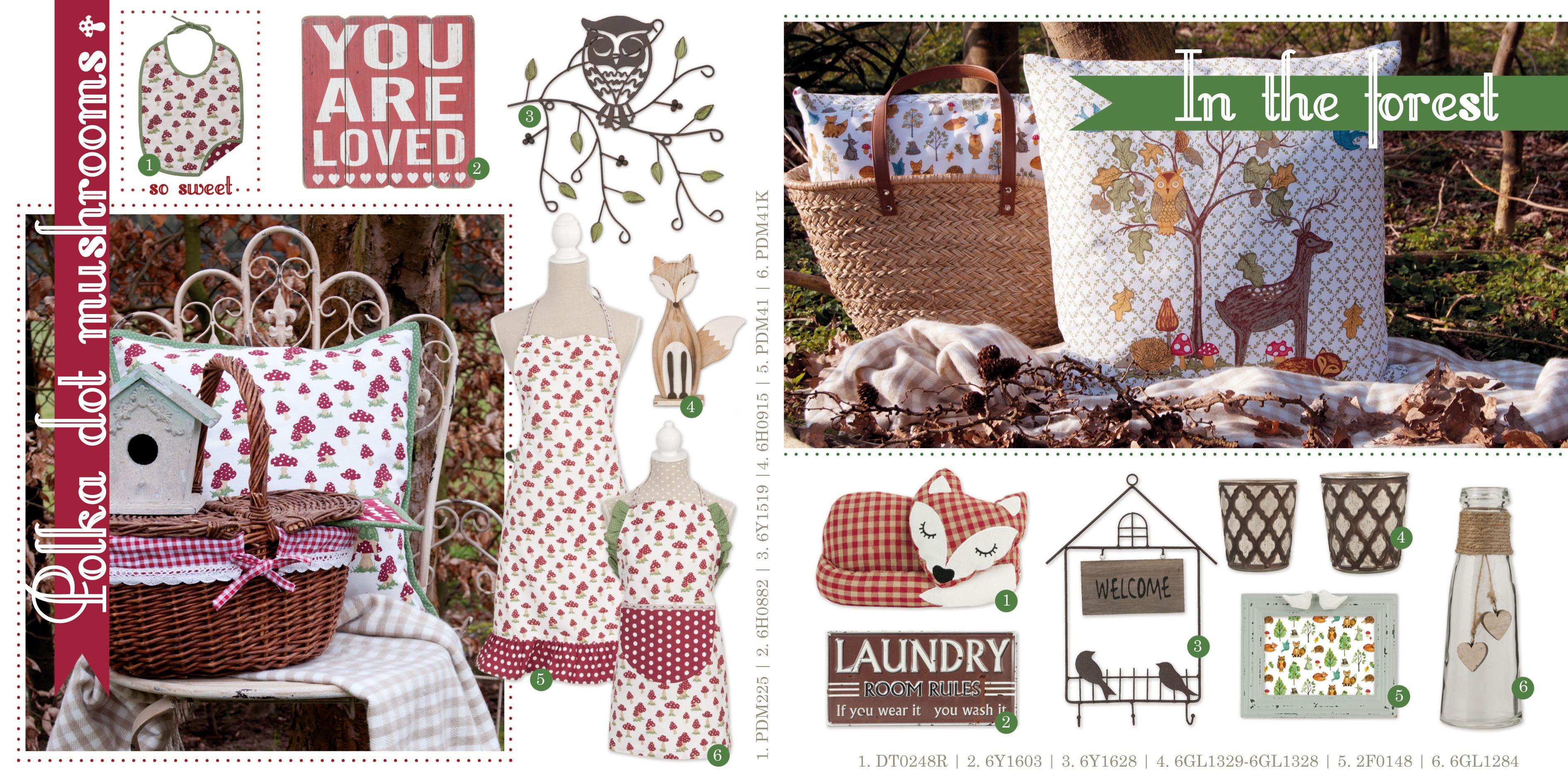 Romantic | Tabelware | Cushions | Pattern | Apron