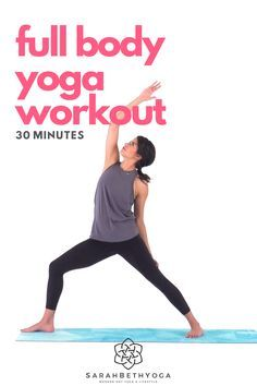 feel the burn with this 30minute muscle burning yoga