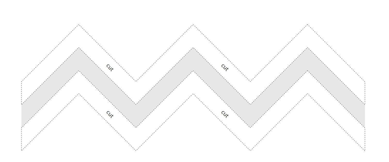 chevron pattern template printable - 1507×628