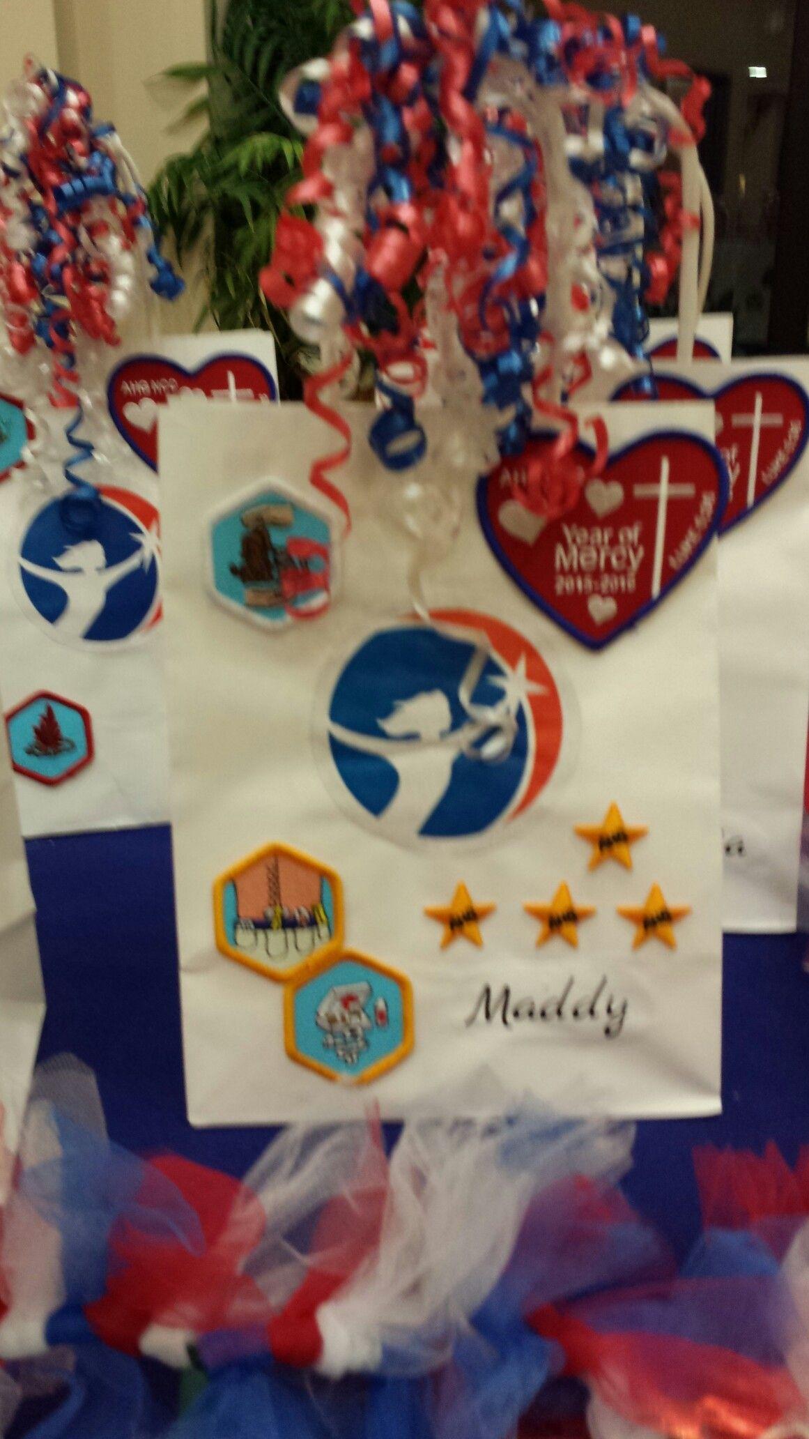 American Heritage Girls Awards Ceremony Badge Presentation
