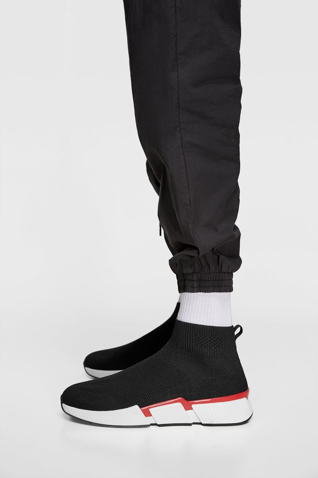 SOCK-STYLE HIGH-TOP SNEAKERS-Boots
