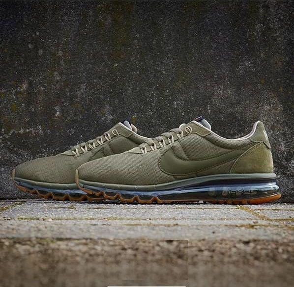 best service 9863f f3b21 Nike Air Max LD-Zero Olive