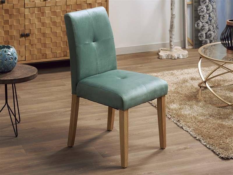 sillas tapizadas en verde