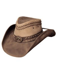 471f4352064 Bullhide Hideout Leather Hat