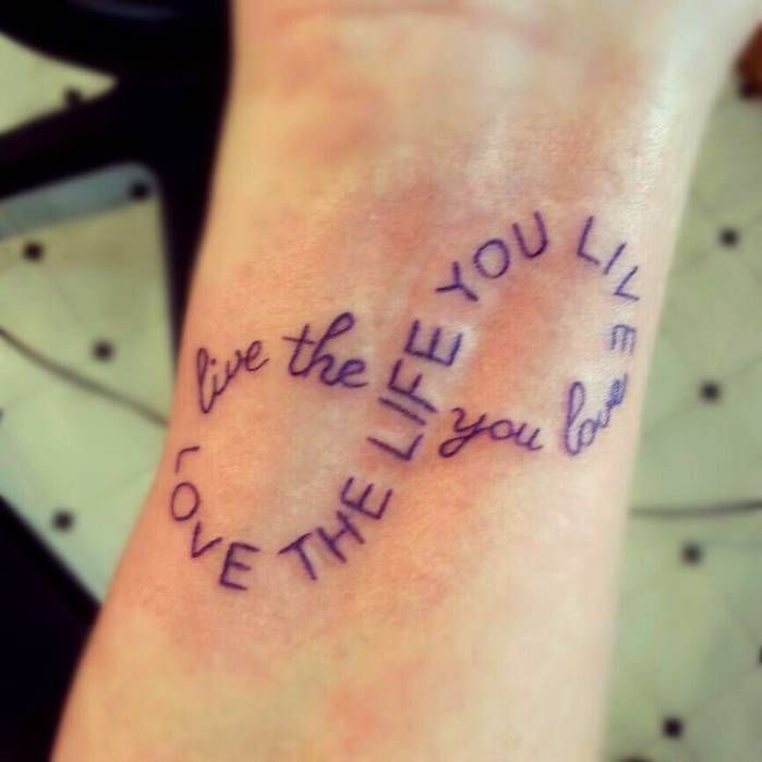 Design Your Own Tattoo: Design Your Own Infinity Tattoo