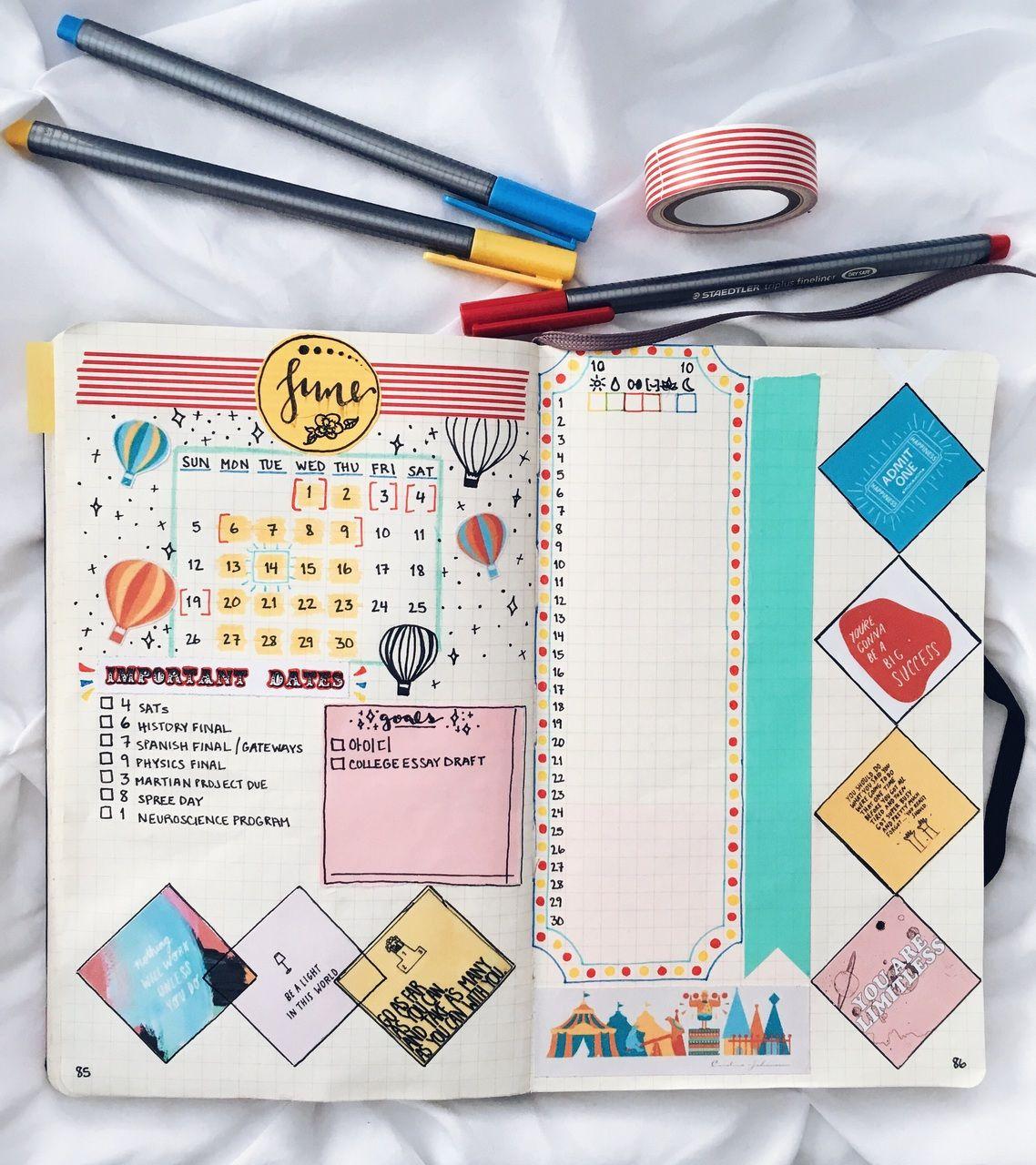 Gorgeous bullet journal