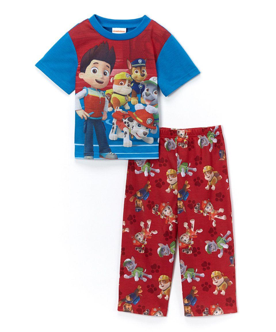 1ebb35b81 Love this Red   Blue PAW Patrol Pajama Set - Infant   Toddler by PAW ...